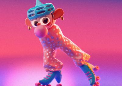 Bubblegum skater